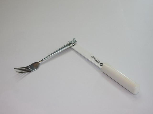加長型餐叉