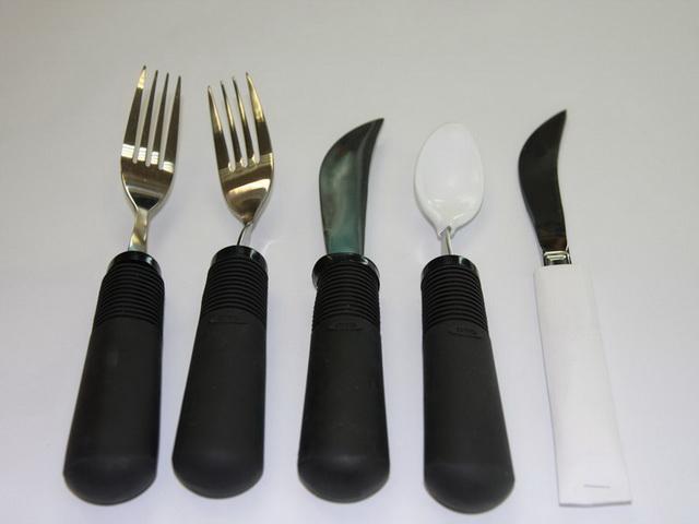 易握可調式塑膠餐具組